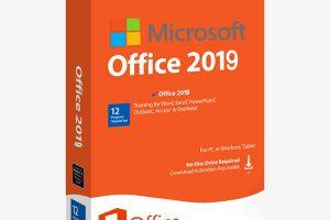 Clé de produit Microsoft Office 2019 gratuite