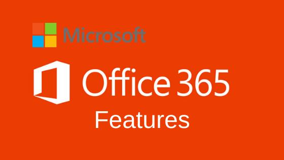 Caractéristiques de la clé de produit MS Office 365