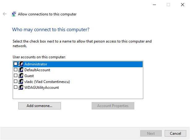 Décider qui peut utiliser votre VPN