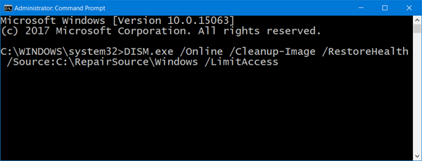 Corriger les fichiers système corrompus de Windows Update