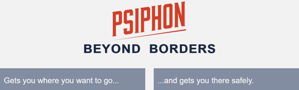 utiliser Psiphon