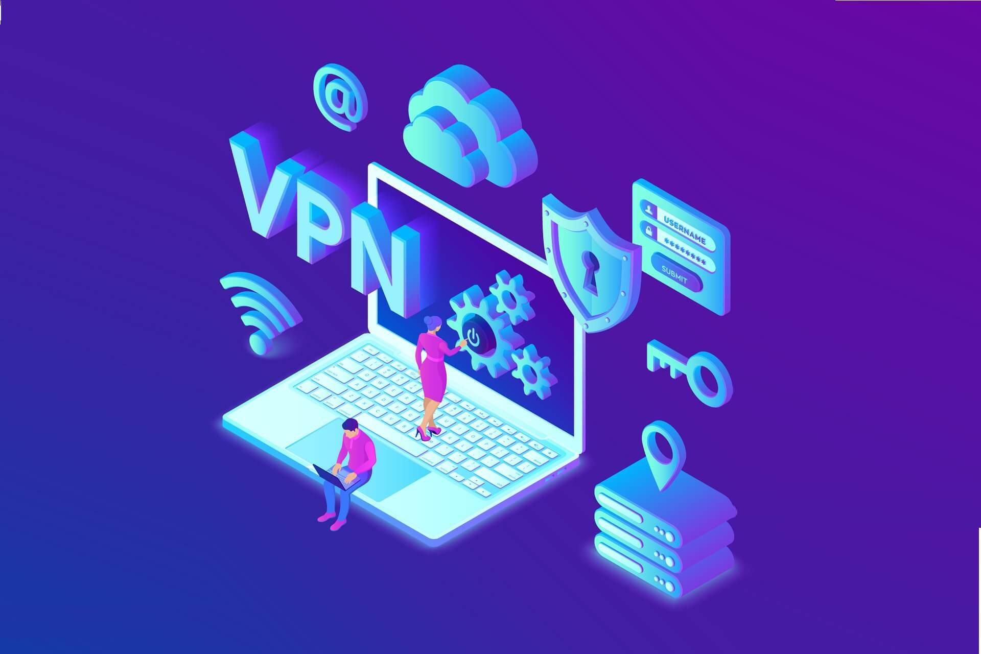 VPN bloqué par les paramètres de sécurité
