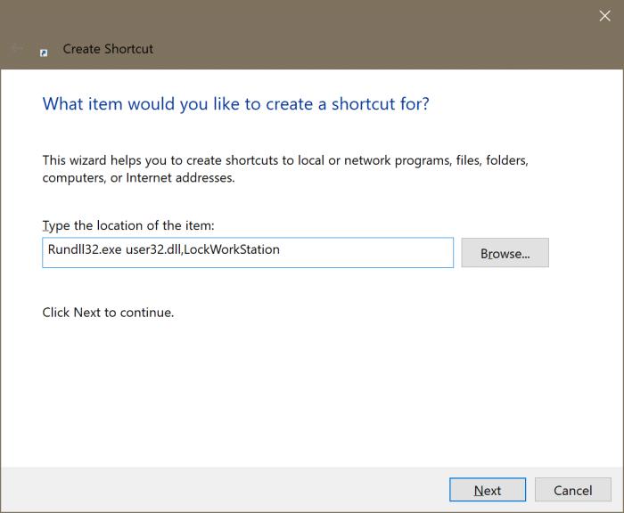 ajouter l'option de verrouillage au démarrage et à la barre des tâches dans Windows 10 pic2