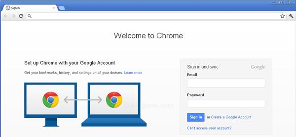 navigateur Chrome