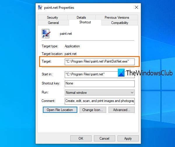 Trouvez où un programme est installé dans Windows 10