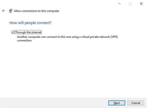 Configurer comment les utilisateurs se connecteront à votre VPN