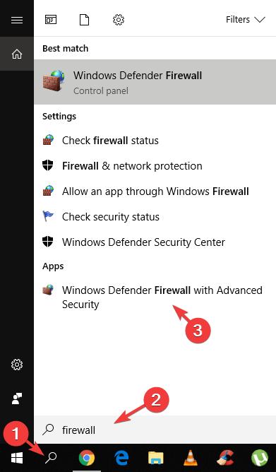 pare-feu windows l2tp vpn bloqué