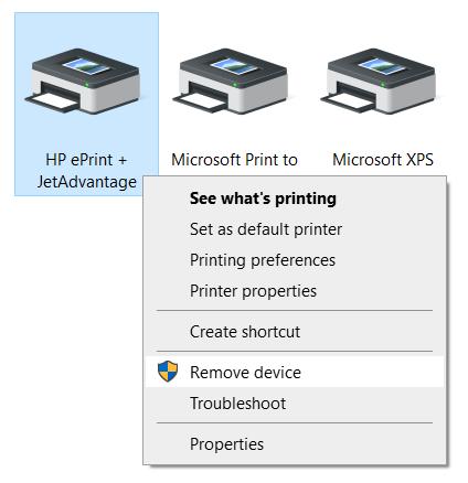 Comment supprimer une imprimante sous Windows 10
