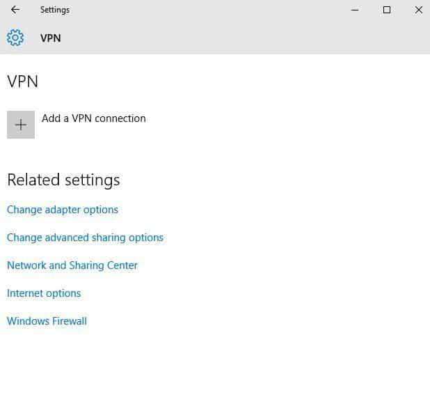 ajouter un ordinateur portable VPN de connexion VPN