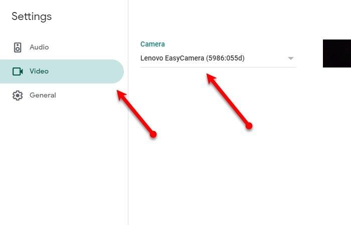 Comment réparer l'erreur de la caméra Google Meet dans Windows 10