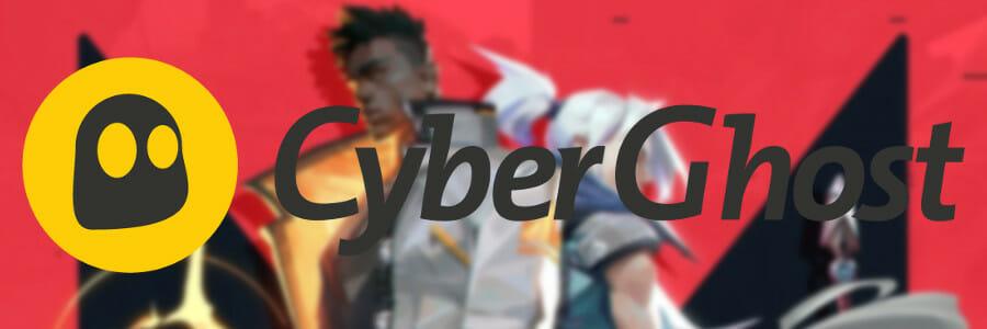 utiliser CyberGhost VPN pour Valorant