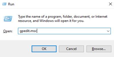 Correction du code d'erreur 0x80072EE6 des services de mise à jour Windows Server Étape 1