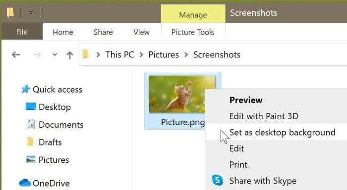 Définir un fond d'écran différent pour chaque bureau virtuel dans Windows 10 pic5