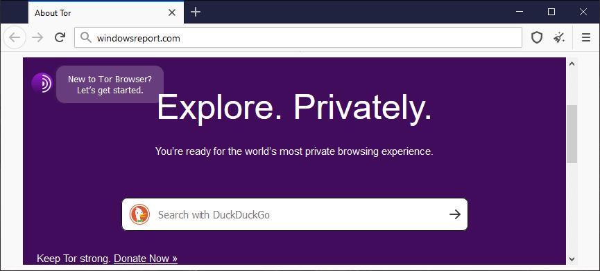 Naviguez sur le Web de manière anonyme avec Tor