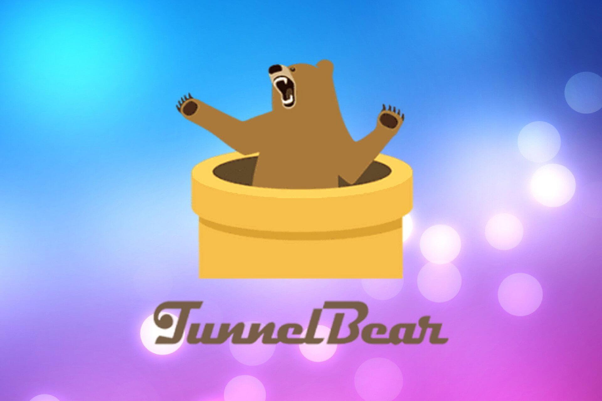 Problèmes d'installation du VPN TunnelBear