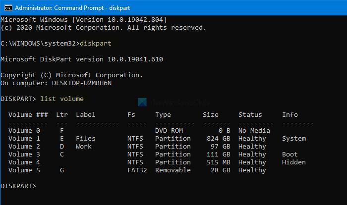 Windows ne peut pas formater la partition système sur ce disque