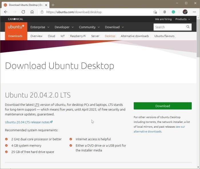créer Ubuntu Live USB sur Windows 10 PC pic01