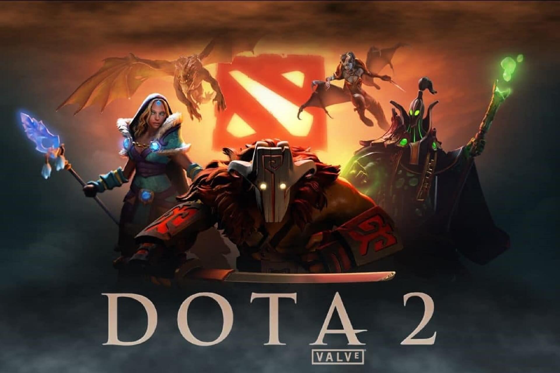 Jouez à Dota 2 avec VPN
