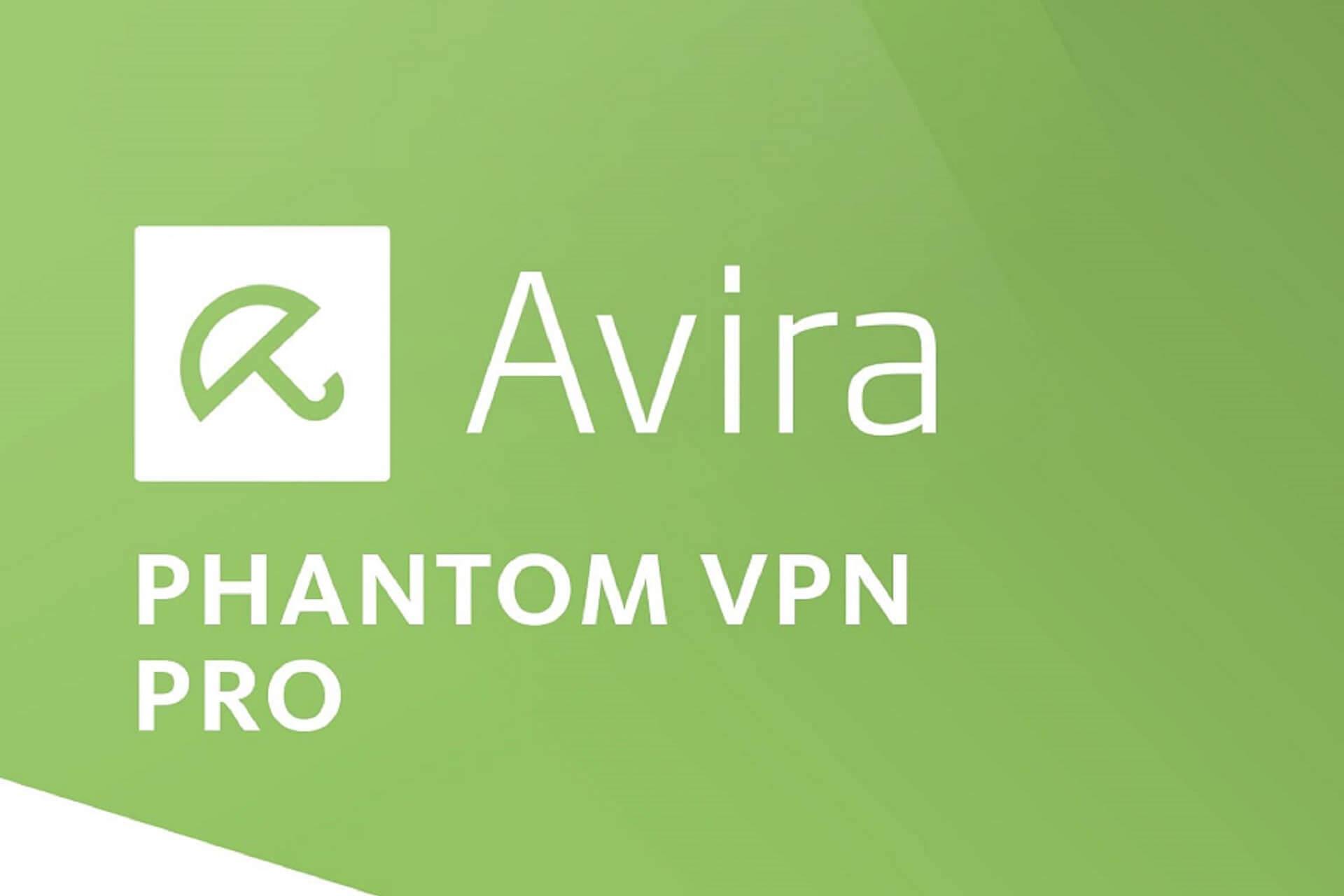 réparer Avira Phantom VPN