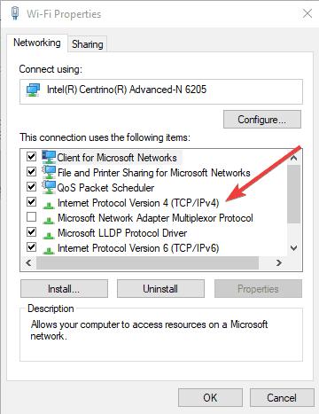 VPN connecté mais ne fonctionne pas