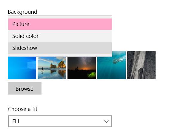 Comment créer un diaporama de papier peint de bureau dans Windows 10