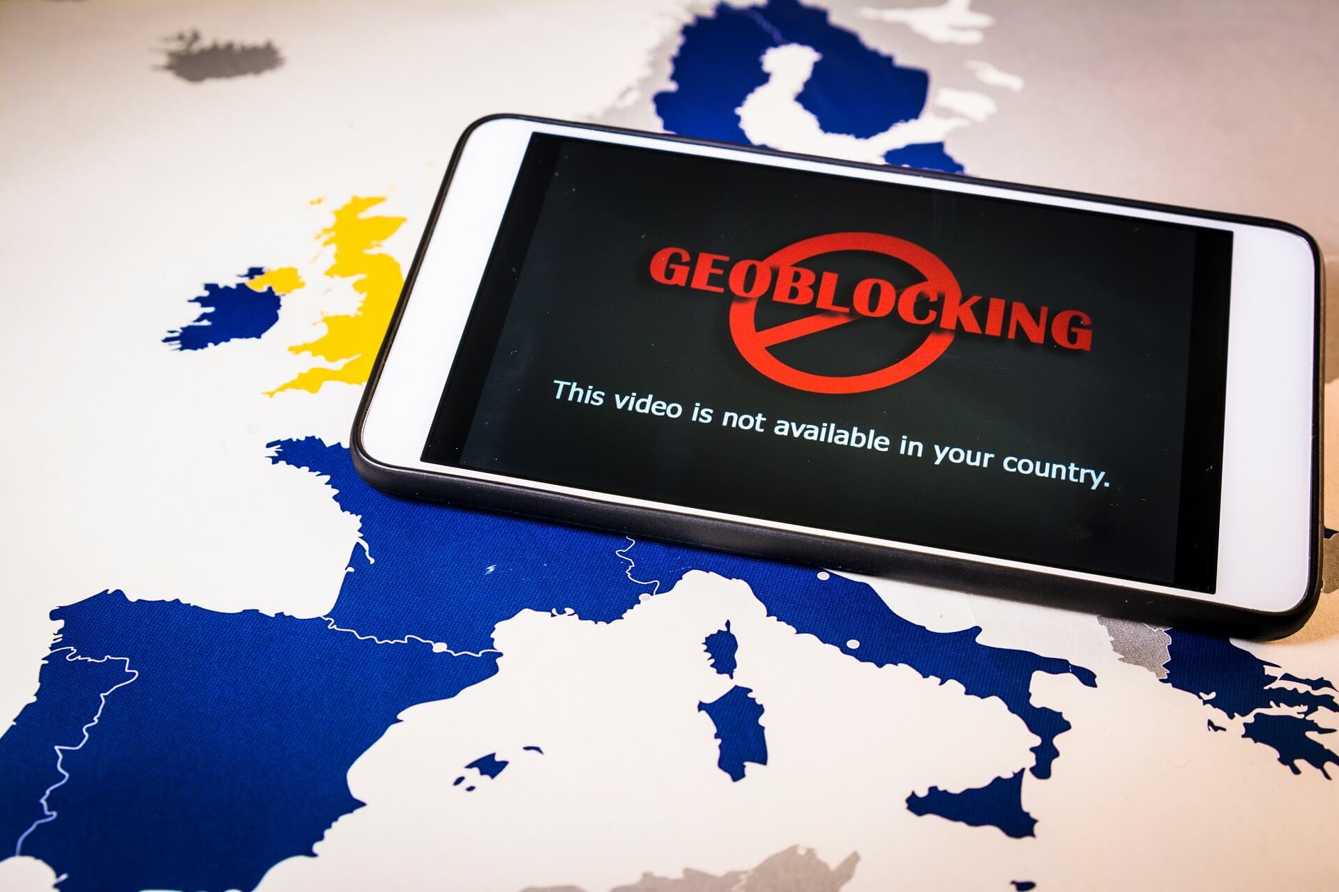 Qu'est-ce que le géoblocage?