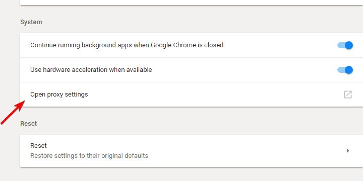 vpn ne fonctionne pas avec chrome