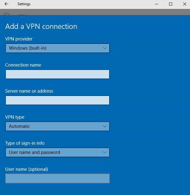 ordinateur portable vpn intégré windows fournisseur vpn