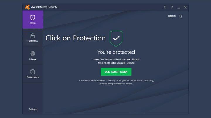 antivirus bloquant vpn