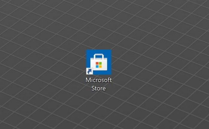 créer un raccourci sur le bureau pour l'application Store dans Windows 10 pic2