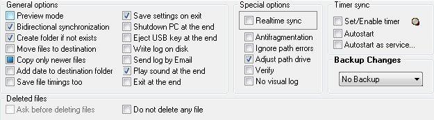 options de dsynchronize