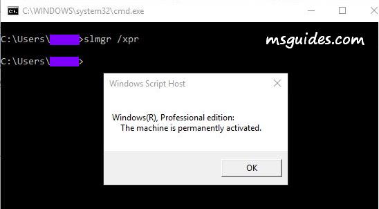 Activation à vie de Windows 10