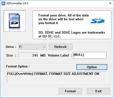 options du formateur sf