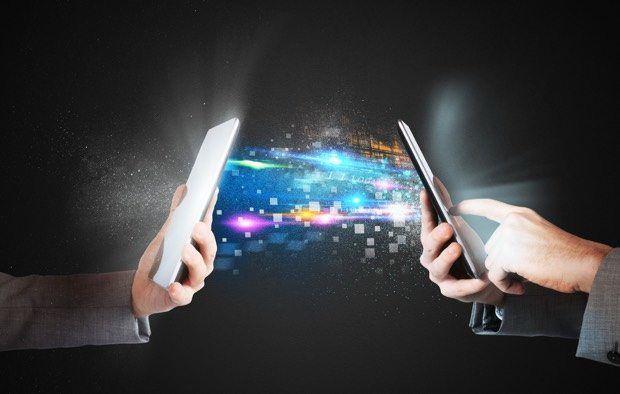 partager entre mobiles