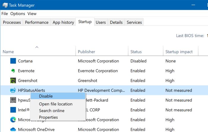 afficher tous les programmes de démarrage dans Windows 10 pic4