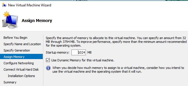mémoire de machine virtuelle