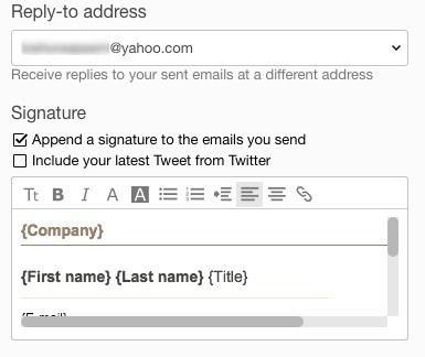 signature html yahoo