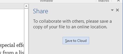 enregistrer dans le cloud