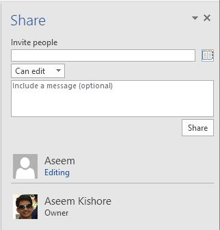partager un document Word