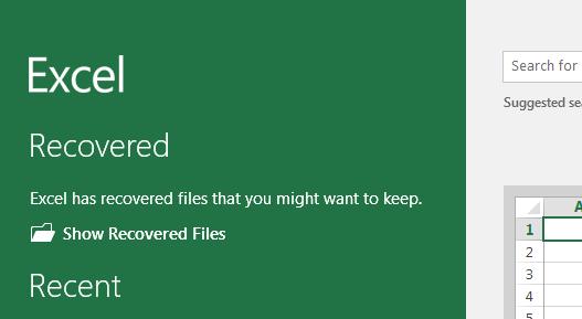 afficher les fichiers récupérés